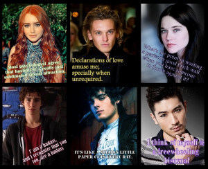 TMI Characters - Cast Quotes by MerielTLA