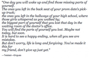 Finding Yourself Quotes Tumblr Finding yourself