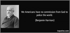 More Benjamin Harrison Quotes