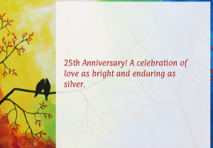25th Anniversary! A celebration of love as bright and enduring as ...