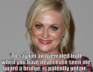 Amy Poehler Troll