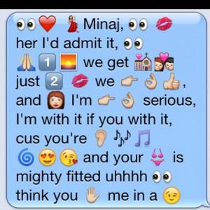 Emoji Songs Drake Miss me - drake - emoji