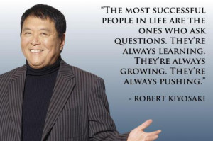 18 Robert Kiyosaki Picture Quotes
