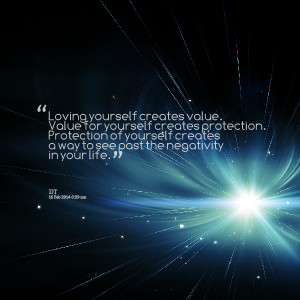 ... protection protection of yourself creates a way to see past the