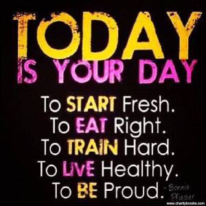 Make Today Count!!! #PushPlay #BringIt