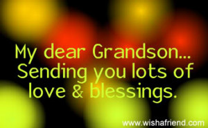 Sending Love To My Grandson picture