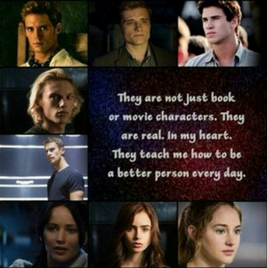 divergent, gale, hunger games, katniss, peeta, quotes, tris, mortal ...