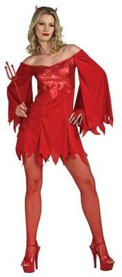 Lady Devil Costumes Sexy Devil Costume HalloweenCostumes4u.
