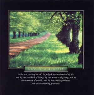 Life's Journey Quotes