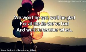 Alan Jackson - Remember When