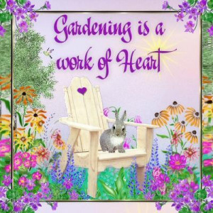 Garden Art: OldFlowerGirl picture (Favorite garden sayings to paint on ...