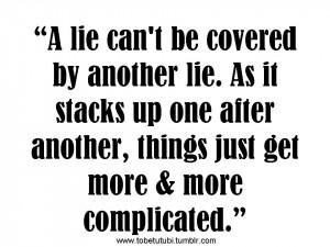 Friends Lie Quotes