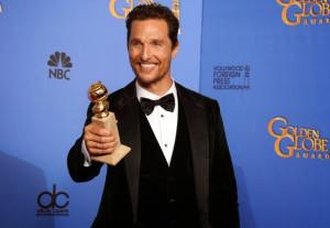 Matthew McConaughey Funny Golden Globes Acceptance Speech (VIDEO)
