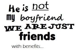 just kidding ...just friends !