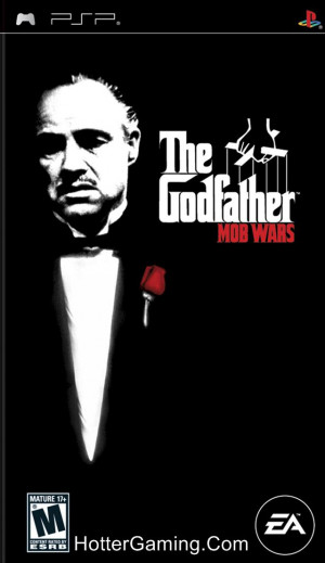 Free Download The Godfather Mob Wars PSP Game Cover Photo