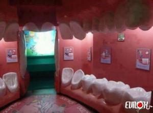 salle d attente, dentiste, decoration, bouche, dent