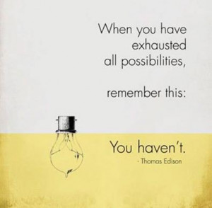 always try and never give up picture quote