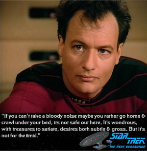 Star Trek The Next Generation Q Who quote by ENT2PRI9SE