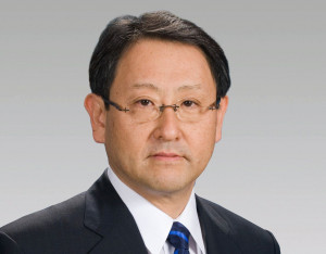 Akio Toyoda - President of Toyota Company