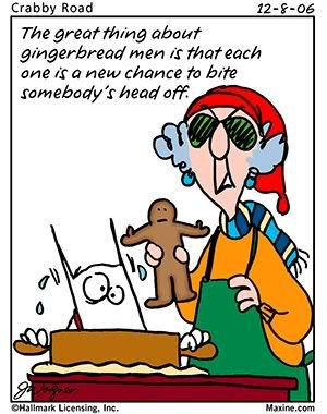 Maxine Christmas Cartoons (Part 2)