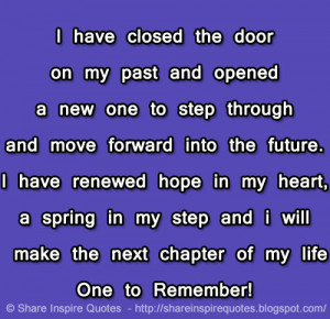 ... next chapter of my life One to Remember!Website - http://bit.ly