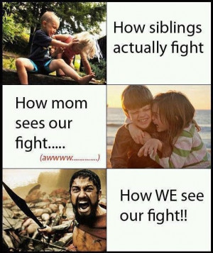 Fighting With My Sister