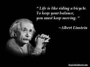 Albert Einstein Inspirational Quotes