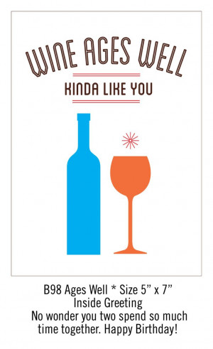 Funny Birthday Cards for the Friend Who Loves Wine