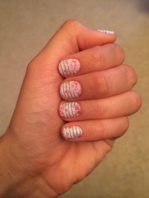 Jamberry Nails: Feminine Flair
