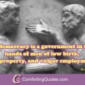 Quotes About Democracy and Government by Aristotle Bob Marley Quotes ...