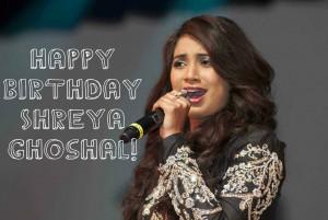 Shreya Ghoshal Birthday Photos