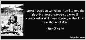 More Barry Sheene Quotes