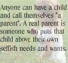 Raising Kids - Narcissistic Parents always put themselves first ...
