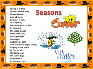 Back > Quotes For > Spring Season Poems