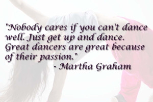 Dance Quotes on wallpapers