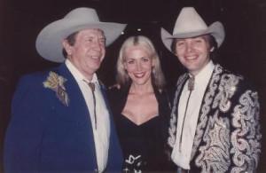 Buck Owens, Melissa McConnell, Dwight Yoakam
