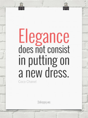 chanel s elegance and fashion were timeless which is why her # quotes ...