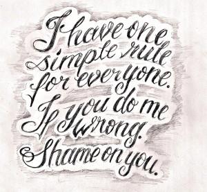 tattoo script lettering 1 by *JeremyWorst on deviantART