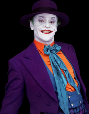 """... the devil in the pail moon light?"""" This joker is full of quotes"""