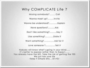 Complicated Quotes