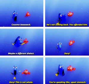 Finding Nemo #dory. Love this movieeeee!!!!! cried the first time I ...
