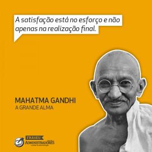 Quote's Gandhi.