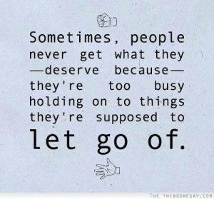 Just say good bye