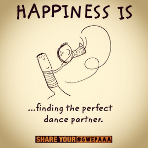 Find the perfect dance partner, share your happiness ( #gwepaaaa ...