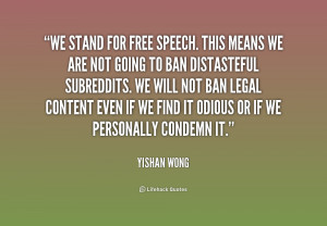 Freedom Of Speech Quotes Preview quote