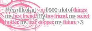 boyfriend quotes Image