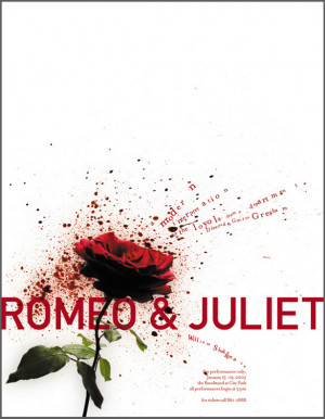 ... romeo juliet play poster poster for the loyola production of romeo