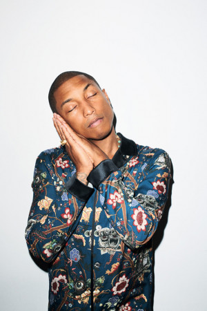 Terry Richardson – Pharrell Williams Photoshoot