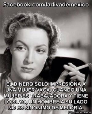 Maria Felix. Wise