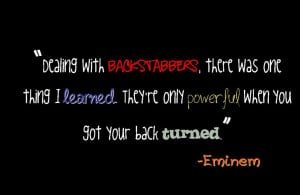 Eminem Quote photo backstabber.jpg